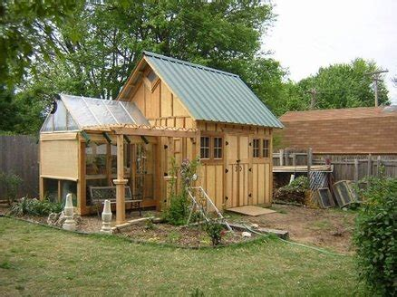 garden shed greenhouse plans go green with a garden shed greenhouse my shed building