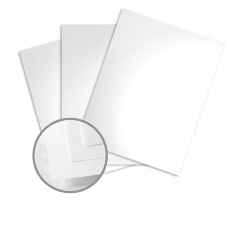 How To Make Glossy Paper - white card stock 8 1 2 x 11 in 100 lb cover glossy