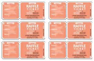 raffle tickets template affordablecarecat