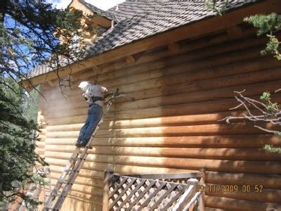 Log Cabin Maintenance by Wood Epoxy Log Home Maintenance And Supply