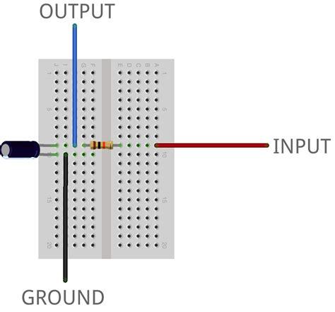 high pass filter breadboard accelerometer werkstatt workshop