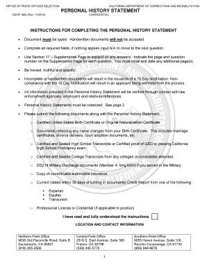 personal statement exles forms and templates fillable printable sles for pdf word