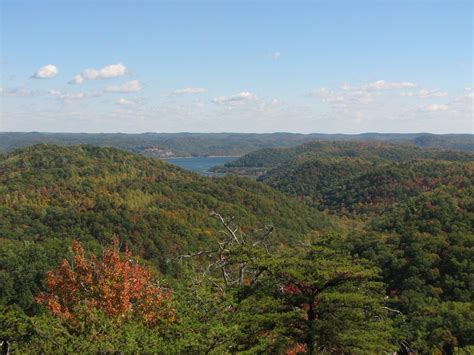 Tater Knob Tower by Panoramio Photo Of Cave Run Lake From Tater Knob Tower