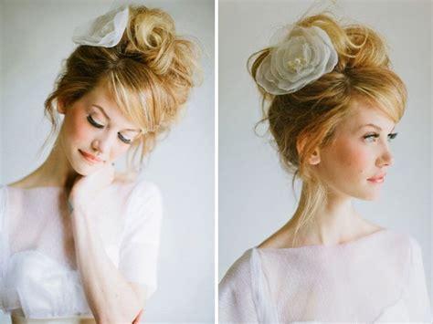 Diy Wedding Hairstyles With Bangs by 30 Best Wedding Bun Hairstyles Everafterguide