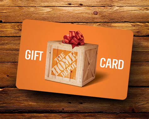 Homedepot Gift Card - 100 home depot gift card sweepstakes