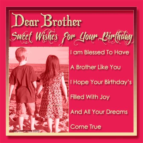 Quotes For Your Brothers Birthday Happy Birthday Quotes For Brother Happy Birthday Quotes