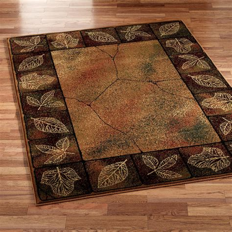 Carpet Area Rugs Gold Leaf Area Rug
