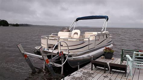 craftlander boat lift canopy lifts and docks craftlander boat lift pricing