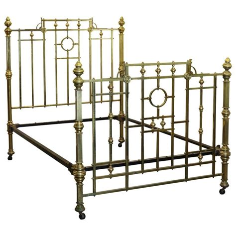 brass beds for sale edwardian all brass bed md38 for sale at 1stdibs