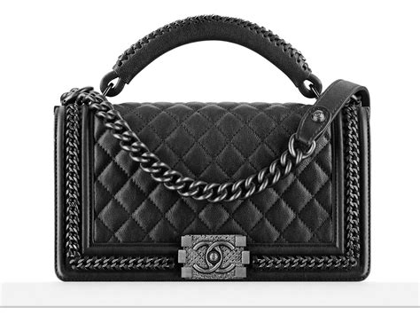 Handbag Handle a look at the chanel boy bag with handle purseblog