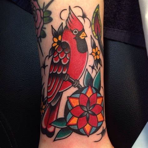 cardinal tattoo art pinterest