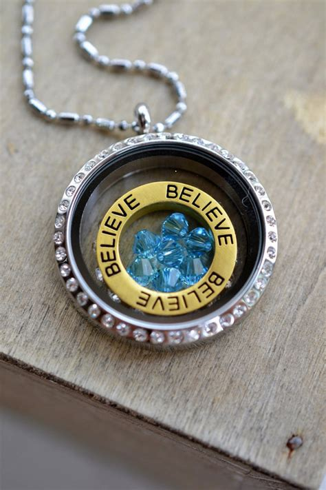 Lockets Similar To Origami Owl - items similar to memory locket necklace bridesmaid
