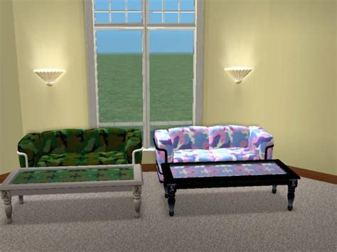 Camouflage Living Room Sets by Mod The Sims Updated 9 10 05 Camouflage Living Room Set
