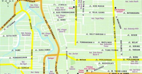 Sk Ii Di Medan directories daftar nama kecamatan kelurahan