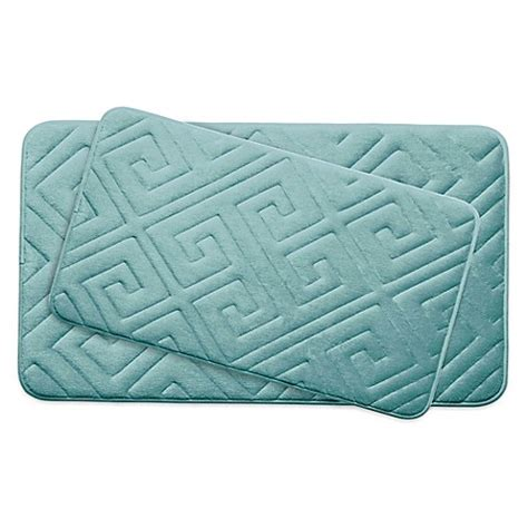 ruby memory foam comfort mat bounce comfort caicos memory foam 2 bath mat set bed bath beyond