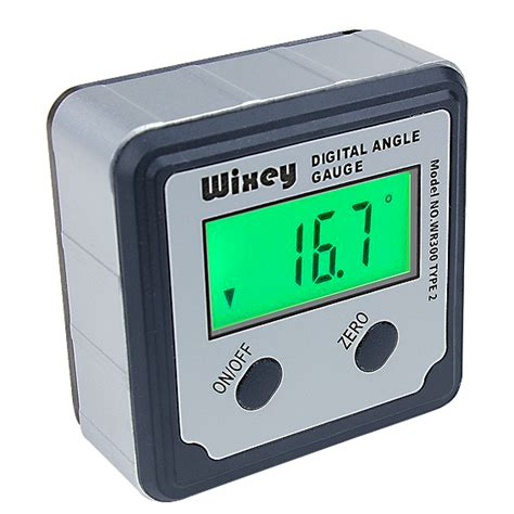 Wixey Wr300 Type 2 Digital Angle With Backlight Saw Accessories Wixey Wr300 Digital Angle W