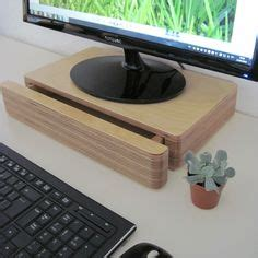 computer monitor desk stand 1000 ideas about monitor stand on desks wood