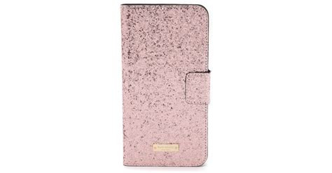 Hardcase Gliter Metalik Iphone 6 Plus kate spade new york glitter bug iphone 6 plus folio