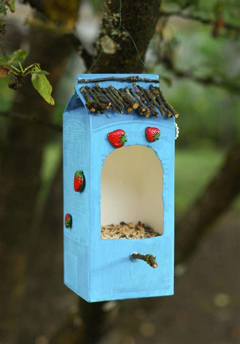 bird feeder   recycled materials audubon vermont