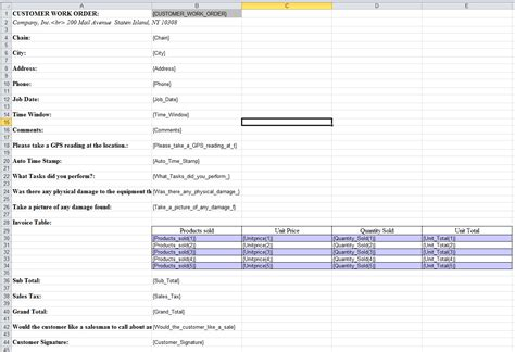 template microsoft excel excel templates for custom formatting of form data