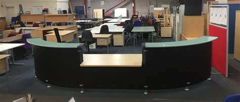 Used Reception Desks Used Large Reception Desks