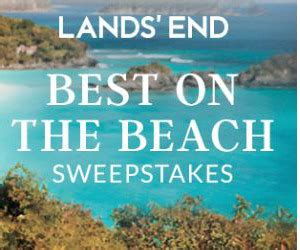 The Best Sweepstakes - lands end s best on the beach sweepstakes giveaway gorilla