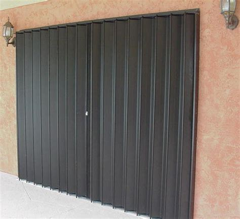 Accordion Garage Doors Accordion Shutters Installed By Jim Ruthrford Construction