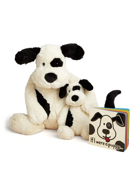jellycat bashful puppy jellycat infant unisex bashful puppy if i were a puppy book bloomingdale s