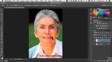 tutorial adobe photoshop cc pdf adobe photoshop cc tutorial working with facial features