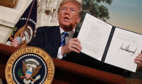 donald trump iran iran nuclear deal donald trump sanctions after exiting
