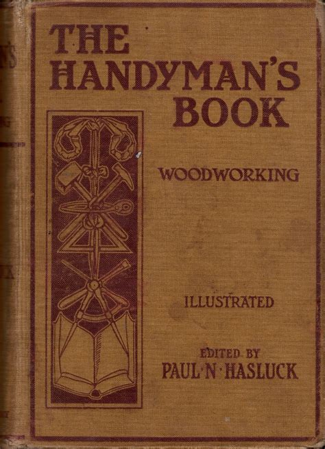 book pdf handyman s book woodworking hasluck 1906 ontario