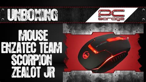 Mouse Gaming Ncx 2 By Starshop98 unboxing mouse gaming enzatec team scorpion zealot jr