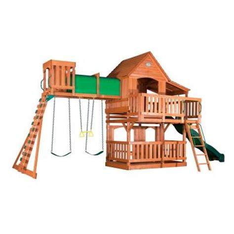 Backyard Discovery Woodridge Ii Backyard Discovery Woodridge Ii All Cedar Swing Set