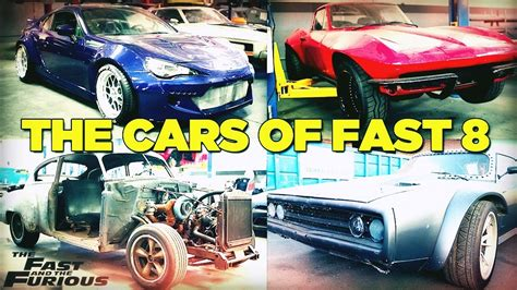 fast and furious 8 cars stingray auto tech autos post