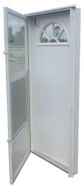 mobile home doors 32x72 aluminum door fan window rh for mobile home