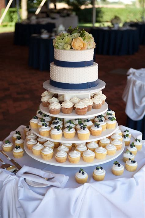Wedding Cake With Cupcakes by Cupcake Wedding Cakes Mon Cheri Bridals