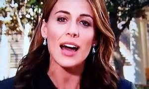 Nbc news correspondent hallie jackson doesn t let dripping nose faze