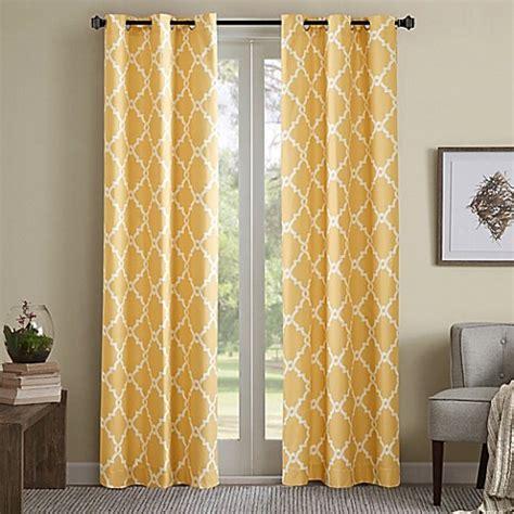 yellow room darkening curtains buy madison park merritt 84 inch grommet top room