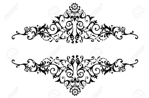 Wedding Border Design Black And White by Borders Designs Black And White Collection 72