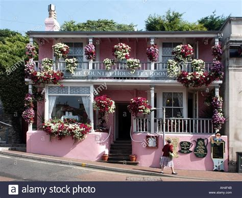 country house tea rooms tynemouth ventnor isle of wight the country house tea room tea room uk stock photo royalty free image
