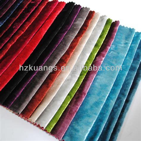 Korean Material Korean Velvet Crushed Velvet Fabric Korean Velvet Fabric