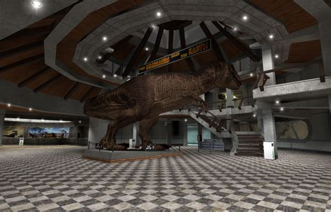 mod game center visitor center structure file jurassic life mod for