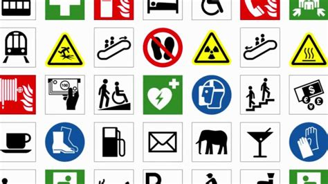 Iso Safety Symbols And Meanings
