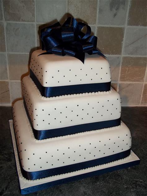 Blue Ribbon Cake Decorating by Blue Ribbon Wedding Cake Flickr Photo