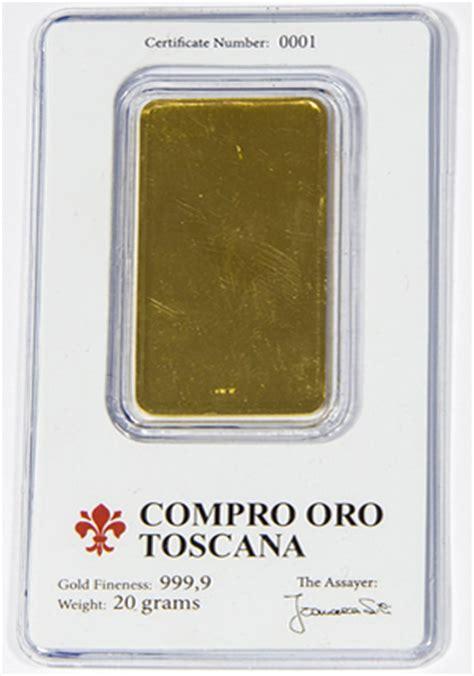 acquisto lingotti oro lingotti d oro