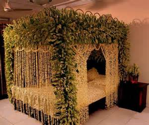Marriage Bed Decoration Pic » Home Design 2017
