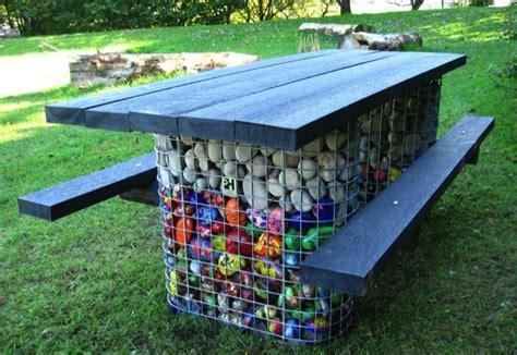 school outdoor seating school table