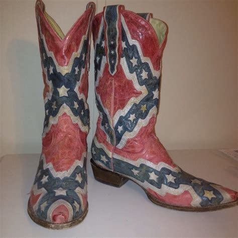 confederate flag boots my house