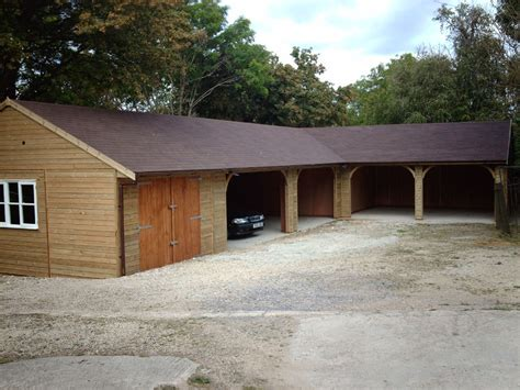 L Shaped Garage | warwick garages l shaped garage