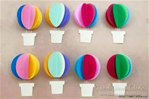 cara membuat hiasan dinding balon udara membuat hiasan dinding menggunakan kertas kumpulan